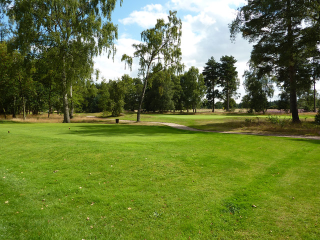 Woodhall Spa golf course