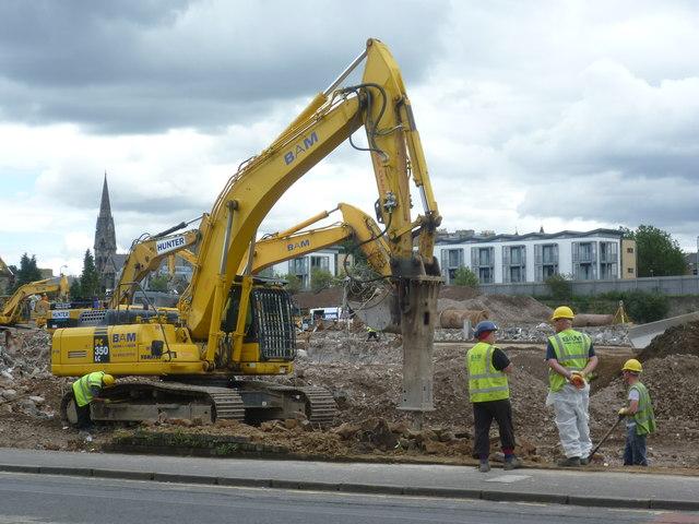 Fountainbridge demolitions