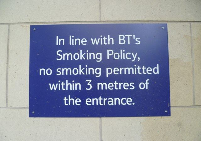 BT notice, Fountainbridge