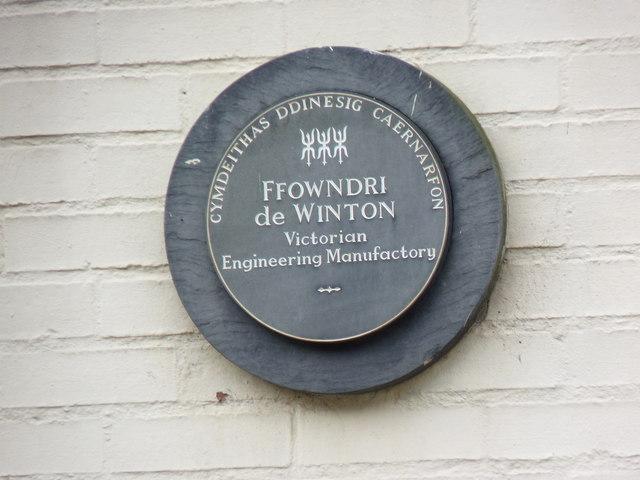 Ffowndri de Winton, Caernarfon