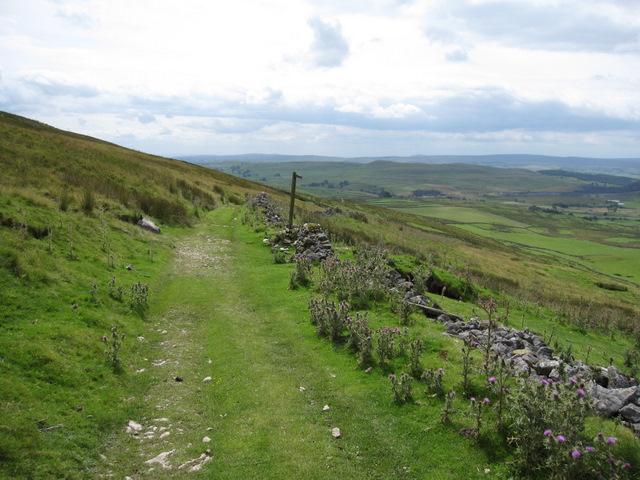 View along Long Lane