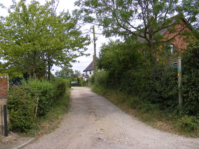 Footpath to North Green Road