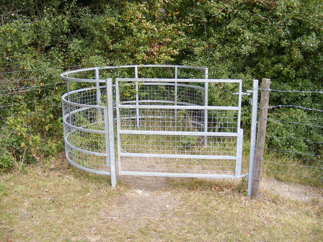 Kissing Gate of the footpath to Manse Lane