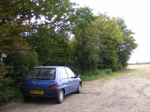 Bridleway to Heveningham Road