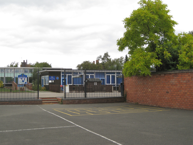 Playground, Hurley Primary School