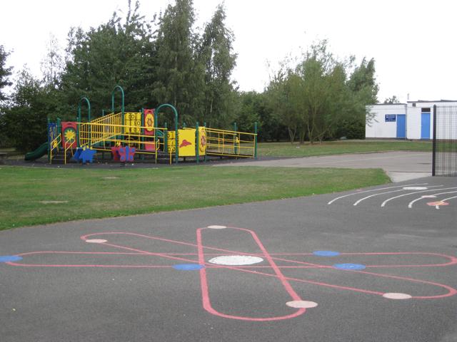 Play area, Hurley Primary School