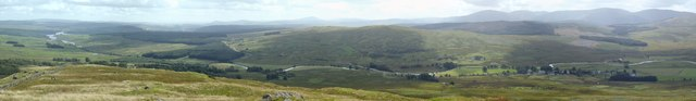Panoramic view from Craig of Knockgray