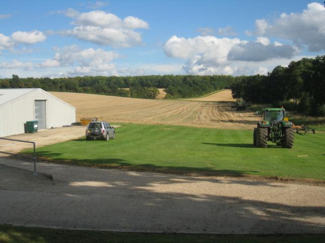 Harvest time - Nurshanger Farm