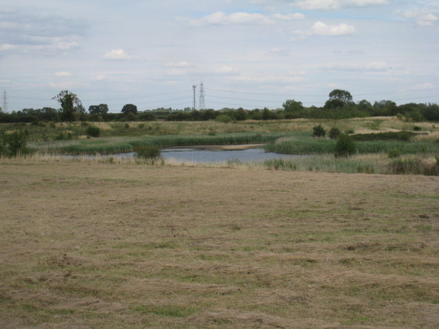 View over the nature reserve