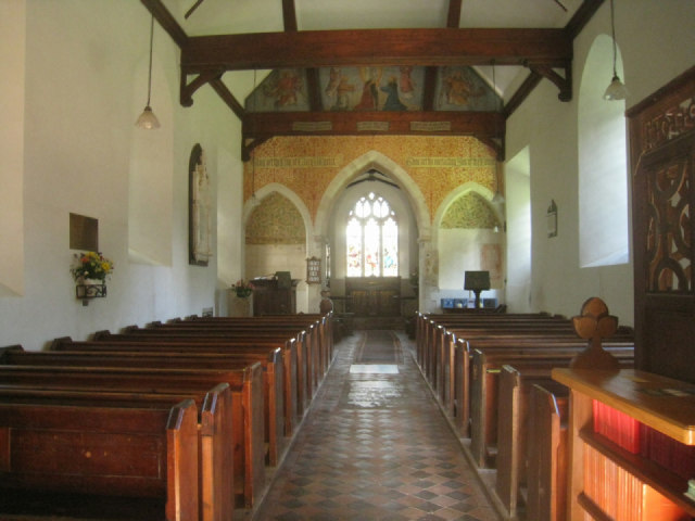 Inside St Nicholas - Steventon