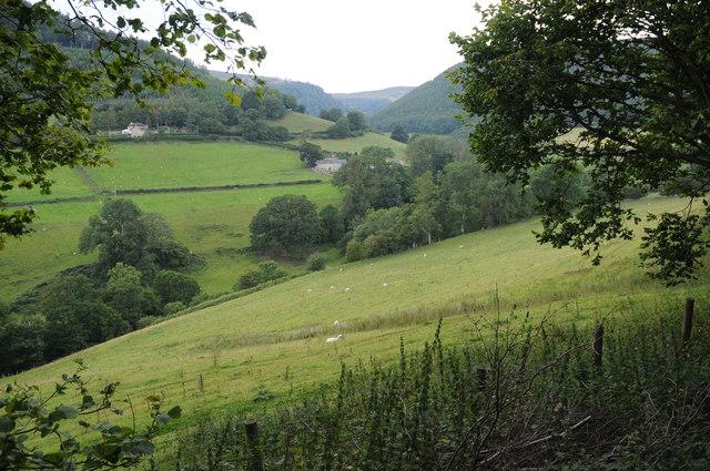 The Eglwyseg valley
