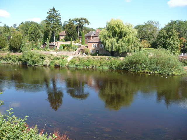 Part of the River Severn at Upper Arley