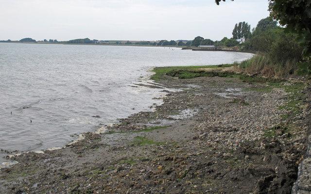 Foreshore near Erwarton Bay