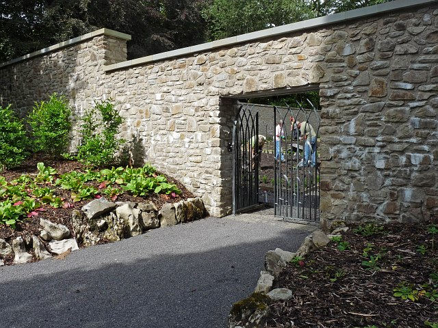 Entrance to the kitchen garden, Bedwellty Park
