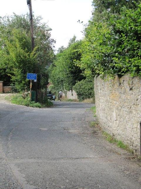 Walking down Locks Lane