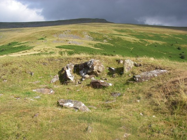 Western slopes of Pen Gloch-y-pibwr