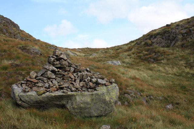 Cairn below Tarfessock