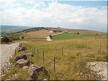 SK2073 : Track on Longstone Edge by Jonathan Clitheroe