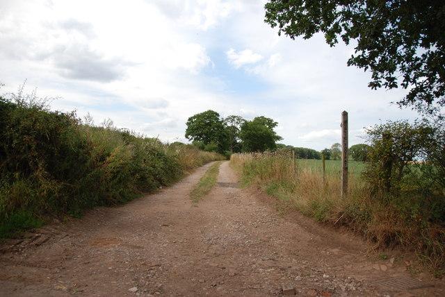 Farm Track with Footpath