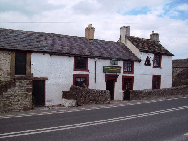 The Three Stags' Heads in Wardlow Mires