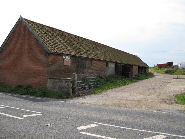 Over Hall Farm building