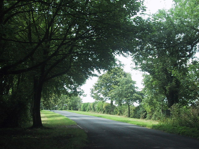 Road west from Lower Heyford