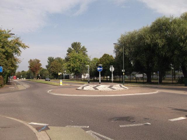 Roundabout on Yanton Way