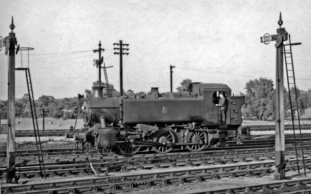 New type of GW Pannier Tank engine at Didcot