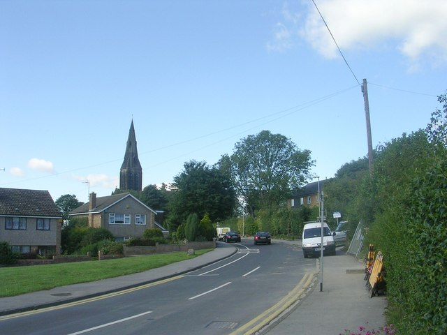 Church Lane - viewed from Church Road