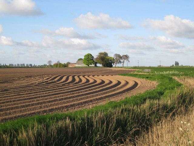Fields near Fordyke Bridge
