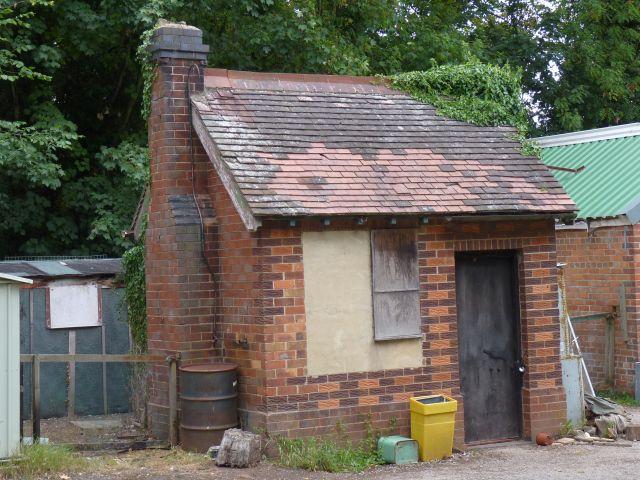 Old office in Brickyard Plantation, Aston-on-Trent
