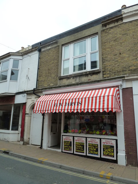 Butchers in the High Street