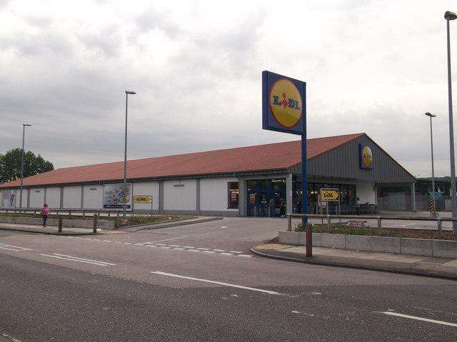 Lidl Supermarket Abbey Wood