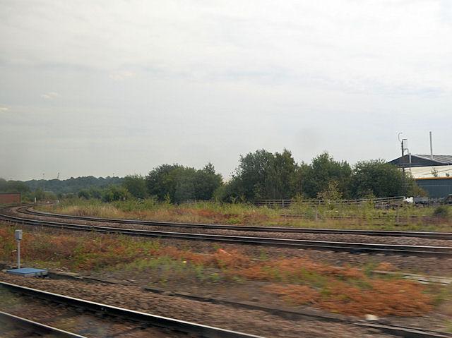 Railway junction east of Kirkgate station