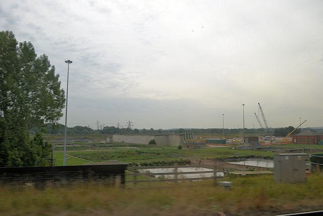 Sewage works at Wakefield