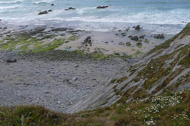 Rough seas at Jangye-ryn