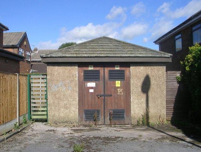 Electricity Substation No 4229 - St Margaret's Road