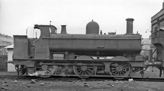 Primitive GWR Pannier Tank 0-6-0T at Croes Newydd Depot, Wrexham