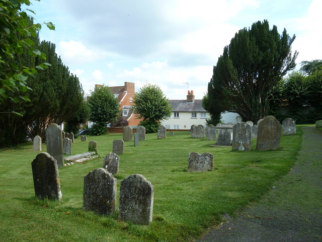 Odiham, All Saints: churchyard (1)