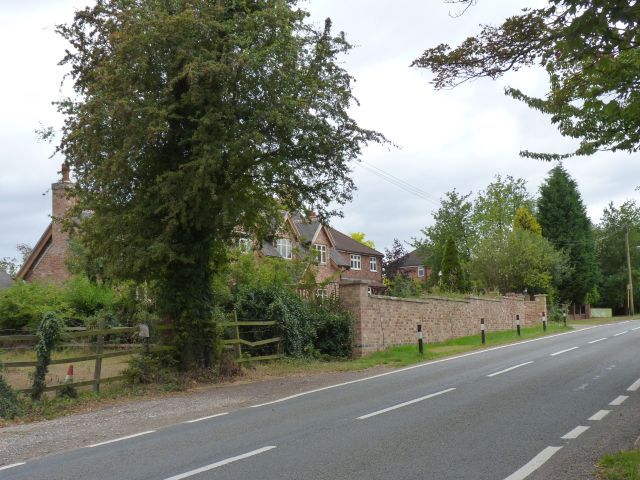 The first houses of Chellaston