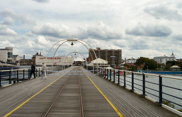 Southport Pier closed