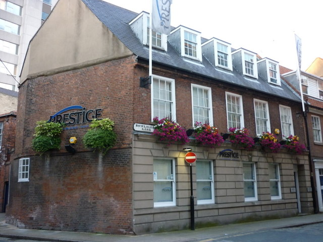 Prestige offices on Bowlalley Lane, Hull