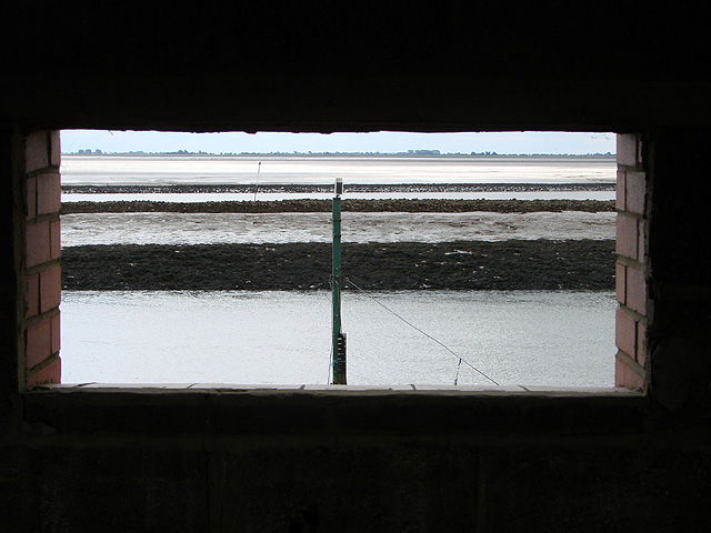 A view out from Cut End bird hide