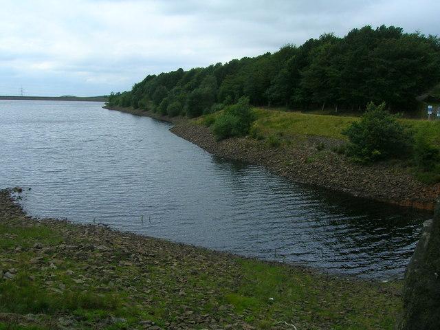 Piethorn reservoir, eastern end