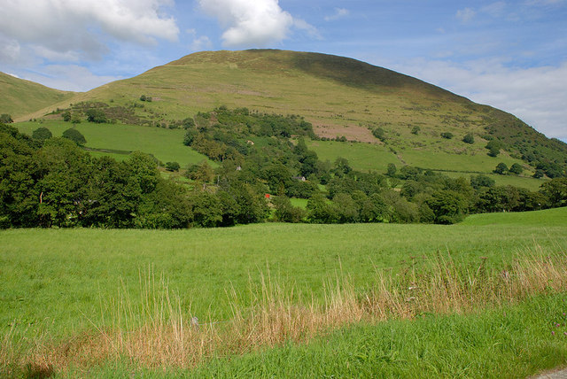 Western slopes of Foel Benddin
