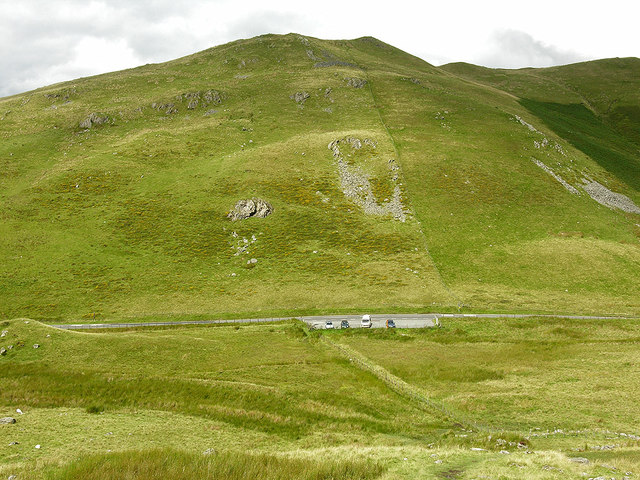 Bwlch Oerddrws from the south