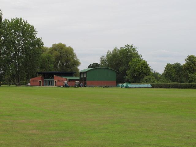 Marston sports ground of Oxford University Sports