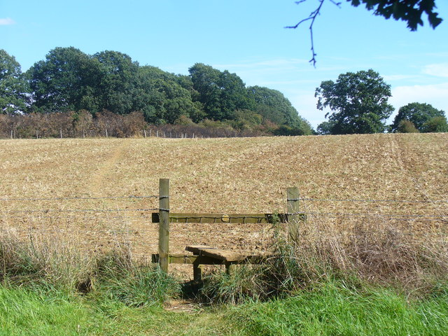 Stile on the Oxfordshire Way
