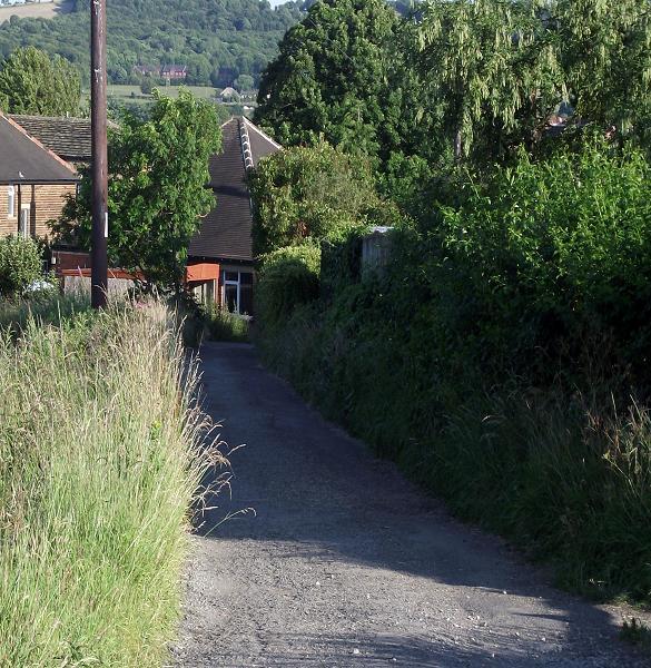 Balderstone Hall footpath