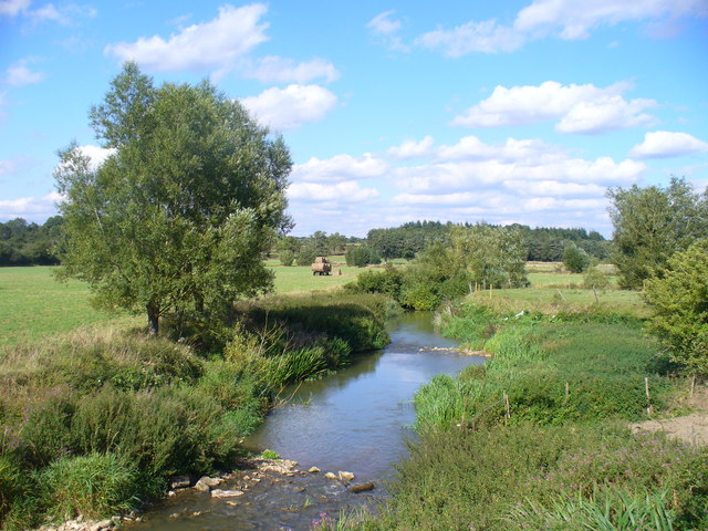 Evenlode Valley at Catsham Bridge